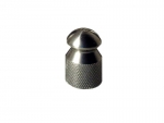 "Drain cleaning rocket nozzle 1/4"" INOX 3x1.0"