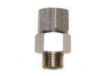 "Hose swivel 1/4"" 300 bar brass"