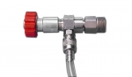 EO-VARIO-Injector 2.1 mm with connector, INOX