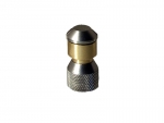 "Drain cleaning turbo rocket nozzle 1/4"" INOX 3x0.7"