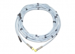 Maximum pressure hose/cable set