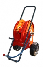 Hose reel trolley 500 bar