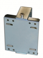 Hose reel hinged wall mounting INOX