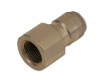 "Quick coupling nipple 1/4"" INOX"