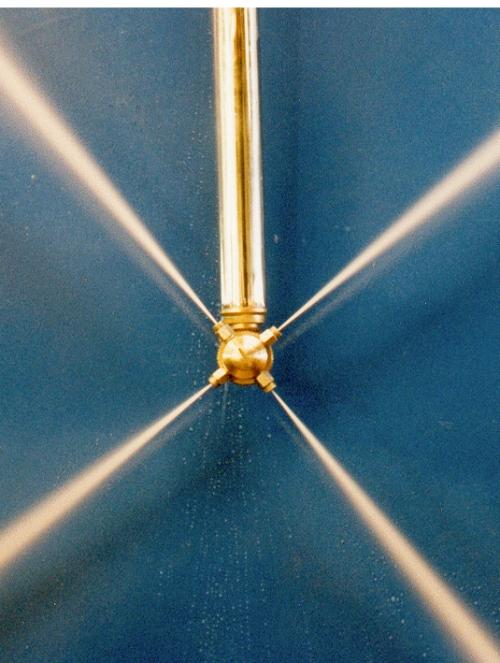 Tir Internal Tank Cleaner Vacuum Proof Inox 500 Mm Barrel