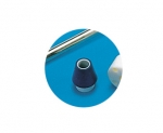 TIR internal tank cleaner rubber tap hole fixture