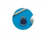 TIR internal tank cleaner rubber tap hole fixture