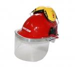 TORNADO plastic visor for protection helmet