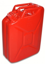 Exchangeable jerrycan