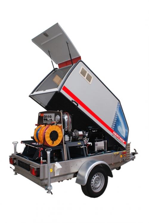 380 bar - 5510 psi - 120°C - 248°F - diesel engine - heavy duty - high pressure aggregate - hot ...