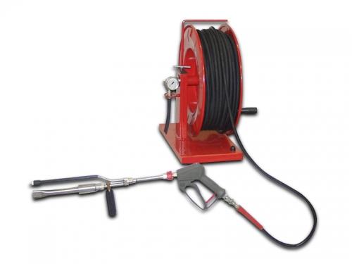 hose reel 60 m jet hp hose pistol duplex hose reels. Black Bedroom Furniture Sets. Home Design Ideas