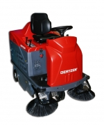 ***|OERTZEN - 9550 E  - Ride-On Sweeper, electric motor|***