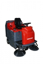 ***|OERTZEN - 9580 E  - Ride-On Sweeper, electric motor|***